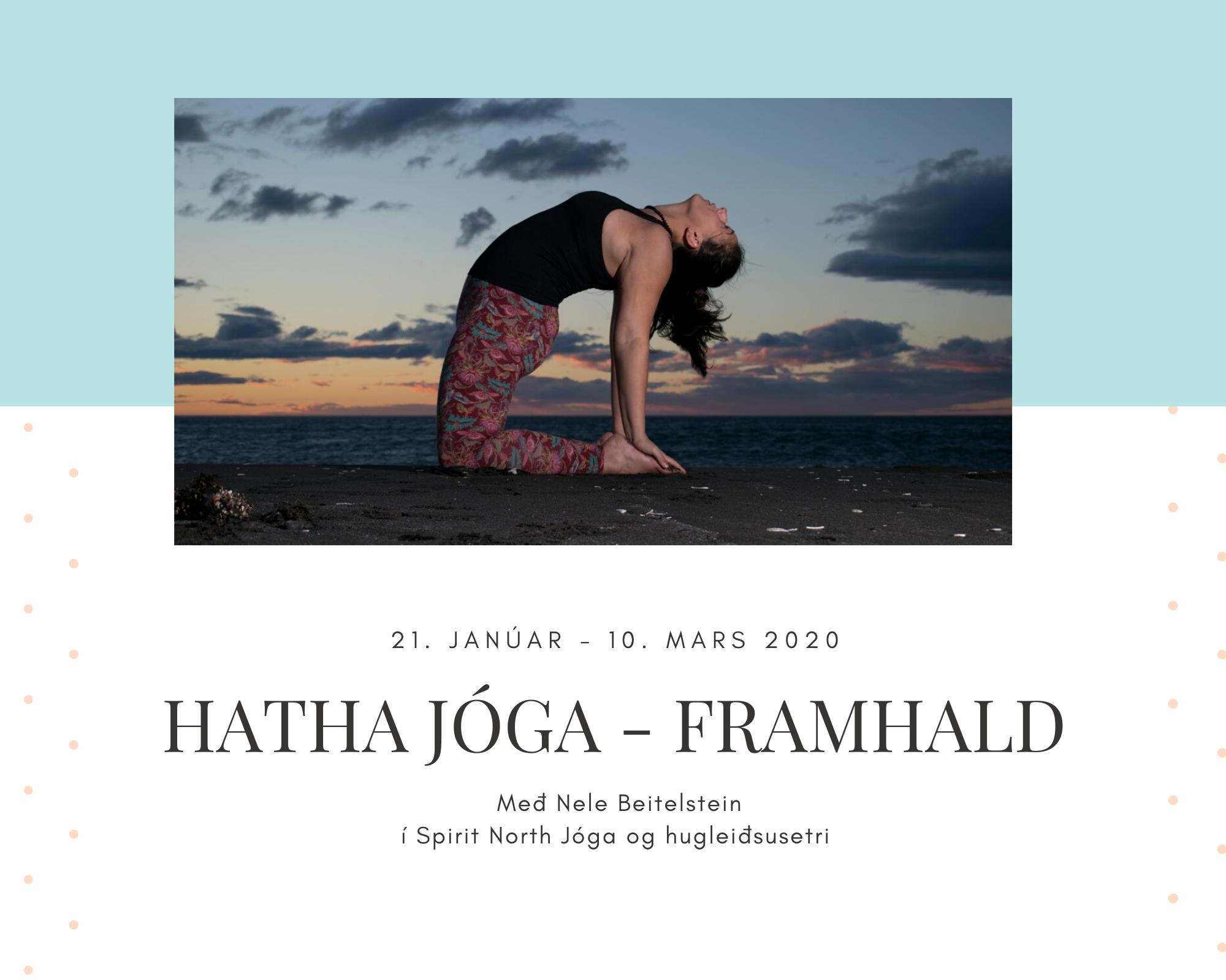 8 vikna Hatha jóga námskeið – framhaldsáfangi